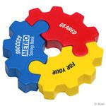 Buy Stress Reliever 3 Piece Gear Puzzle Set
