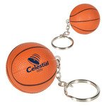 Buy Stress Reliever Key Chain Basketball