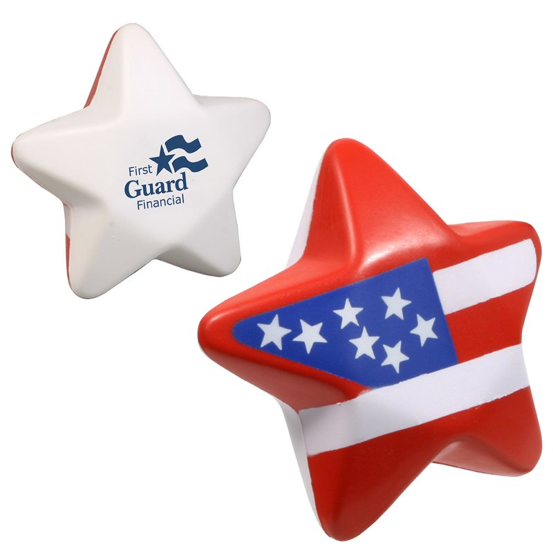 Main Product Image for Stress Reliever Patriotic Star
