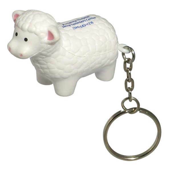 Main Product Image for Stress Reliever Sheep Key Chain