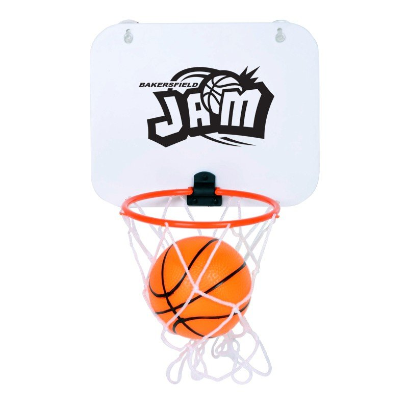 Main Product Image for Mini Basketball Hoop & Ball with suction cup
