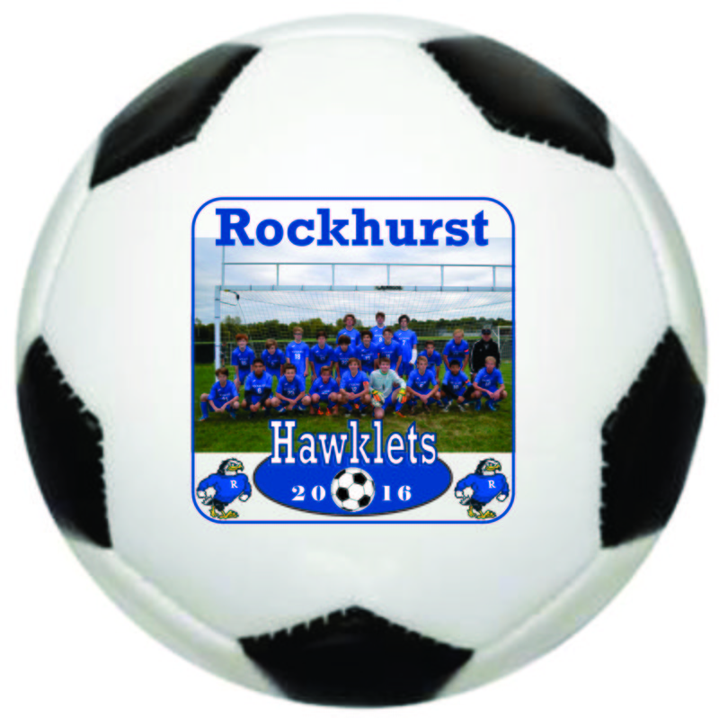 Main Product Image for Trophy Photo Soccer Ball  - Mini Size