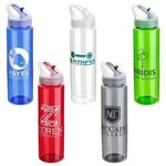 Buy Velo 32 oz PET Bottle with Flip-Up Lid