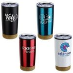 Buy York 20 oz Stainless Steel/Polypropylene Tumbler with Cork B